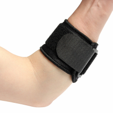 Black Adjustable Tennis Fitness Elbow Brace Support Strap Pad Sports Protector By Five Star Store.