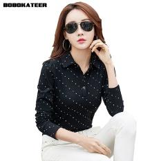 0c83e04e791 BOBOKATEER Long Sleeve Tshirt Women T Shirt Cotton Tee Shirt Femme Solid  Casual T-shirt