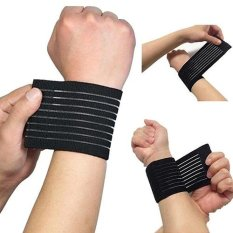 Broadfashion Fitness Strength Bandage Sport Wristban Protector Carpal Tunnel Wrist Strap - Intl By Broadfashion Store.