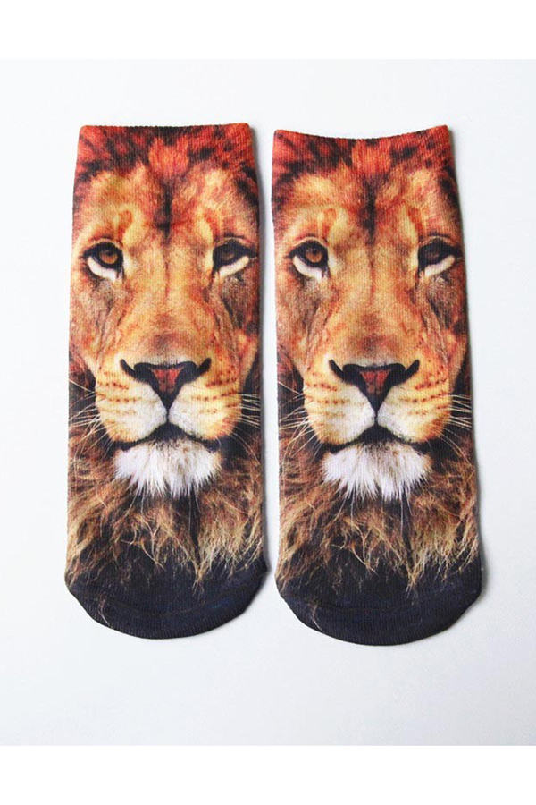 Buytra Ankle Socks 3D Printed Unisex Harajuku Cute Lion product preview, discount at cheapest price