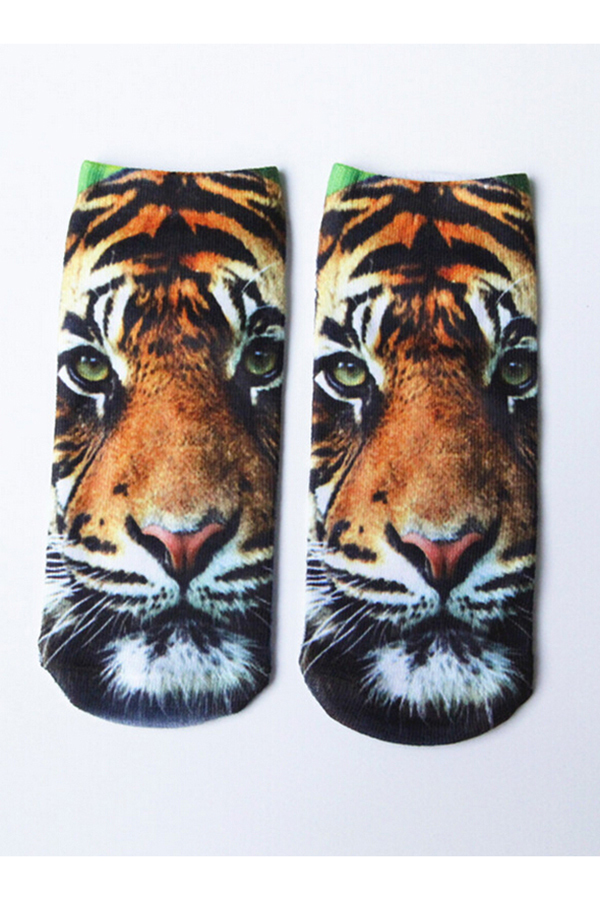 Buytra Ankle Socks 3D Printed Unisex Harajuku Cute Tiger product preview, discount at cheapest price