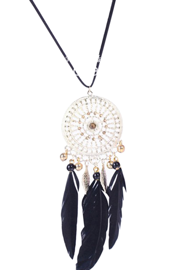 Buytra Retro Dream Catcher Necklace