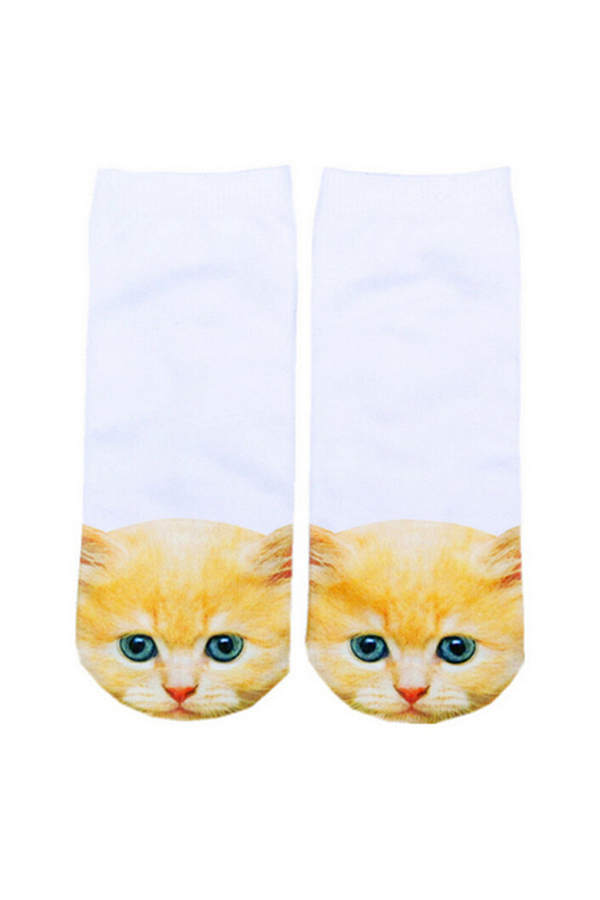 Buytra Unisex Socks 3D Printed Animal Casual Cute Low Cut pers1 product preview, discount at cheapest price
