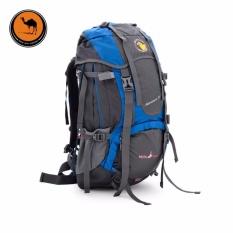 Camel bag double shoulder bag men and women's outdoor backpacking backpacks waterproof 55L - intl