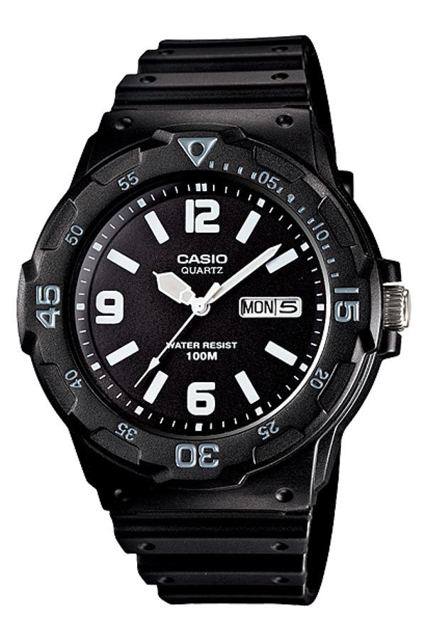 Casio Men's Black Resin Band Watch MRW-200H-1B2VDF product preview, discount at cheapest price