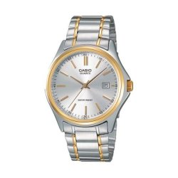 Casio Analog MTP-1183G-7ADF Two Tone Stainless Steel Band Men's Watch