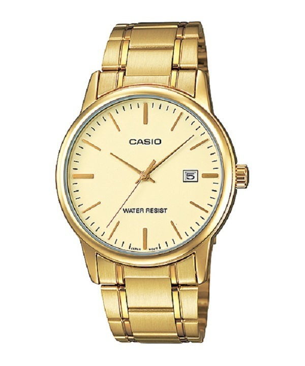Casio MTP-V002G-9A Men's Watch (Gold) product preview, discount at cheapest price