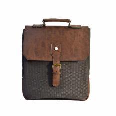 Charcoal - Crazy Brown Honeybadger Pad Bag