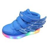 Children Boys Girls Running wings shoes Luminous Sneakers Led Light Up Kids sneaker - intl | Lazada PH