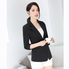 Classic Versatile Spring New Style Elegant Three Quarter Length Sleeve Suit  Nv Wai Tao