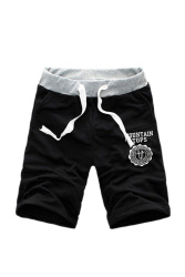 Cotton Shorts Pants (Black)