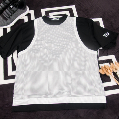 61b1ccea4ed Summer Wear Gauze Mock Two-Piece Men And Women Short Sleeve T-shirt Students