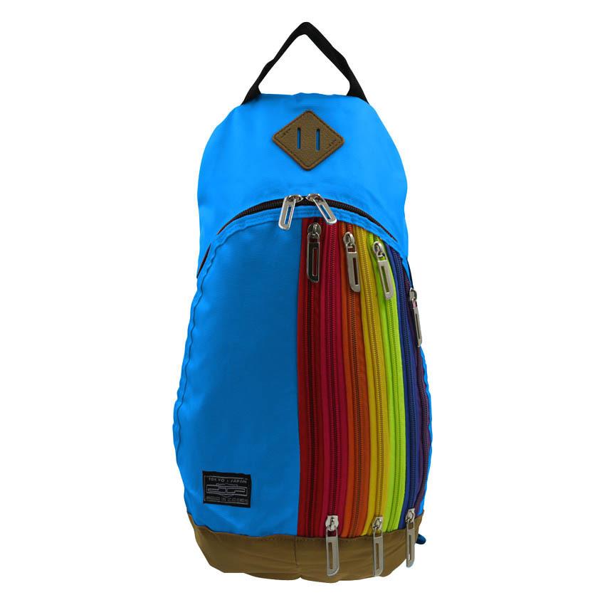 Cross Body Backpack Bag (Blue) - thumbnail