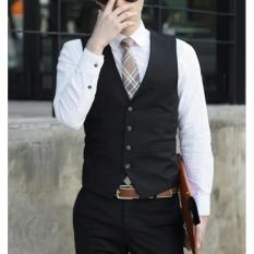 CStore 2017 Spring And Autumn Period Korean Style Mens Suit Vest Leisureoccupation Vest - intl