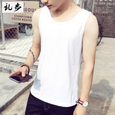CStore Running Sports Vest Male Korean Version Of The Influx Of Summersolid Color Sleeveless T-