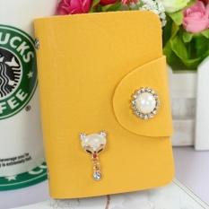 CStore The New Multi Card Card Package Korean Cute Girl Card Bag Antidegaussing Credit Card Name