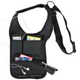 Cyber Anti-Theft Hide Underarm Shoulder bag Holster (Black) - thumbnail 4
