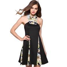 d927ae360c8b0e Cyber Stylish ANGVNS Ladies Women Sleeveless Strapless Mini Party Patchwork  Dress