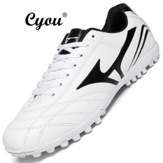 42ef6aa62 CYOU 2017 New Men Football Boots TF Indoor Soccer Shoes Turf Racing Broken  Nail Cheap Training