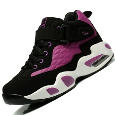 Danji Big Size Womens Sport&outdoor Shoes Basketball Shoes (black/purple) - Intl By Danji Official Flagship Store.