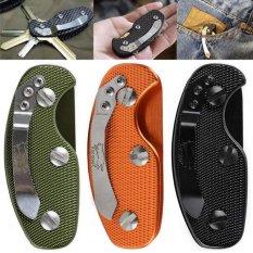 EDC gear key keychain holder folder clamp pocket multi tool organizer  collector smart clip kit bar d35fc59399
