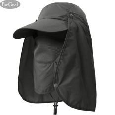 829ba0b11d3 EsoGoal Summer Sun Hat Protection Caps Flap 360°Outdoor Fishing Hat with  Removable Neck Face