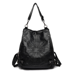 5d61a16520c2 2018 New Style Western Style Backpack women Dual Purpose Large-capacity  Backpack Korean Style Versatile