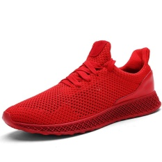 Extreme Breathability Sneaker Fashion Comfortable High Quality Men's Ventilative Running Shoes Wear-resisting Sport Shoes