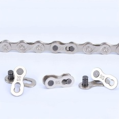 Fabulous 1pair Reuseable Bicycle Bike Chain Connector Link Joint For 10 Speed Master - Intl By Saista Store.