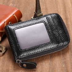 Womens card holders for sale card holder bags online brands getek mini synthetic leather wallet id credit cards holder black reheart Images