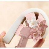 18e735fcedec Girls Baby Kid Soft Sandals Flowers Casual Shoes Princess Flatsvolcro Beach  Shoes Pink - intl