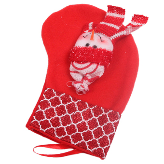 Hanyu Christmas Sock Party Decoration Sock #2 Red