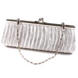 Hanyu Clutch Bag Charm Purse Handbag White - thumbnail 2