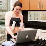 5ede62f89b150 Hanyu Maternity Bra Cotton Maternity Bra for Nursing Push Up Hands Free  Breast pump Bra Maternity Breastfeeding Bra Underwear Nude - intl