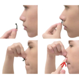 Hanyu Nose Up Shaping Shaper Lifting Bridge Black - thumbnail 2