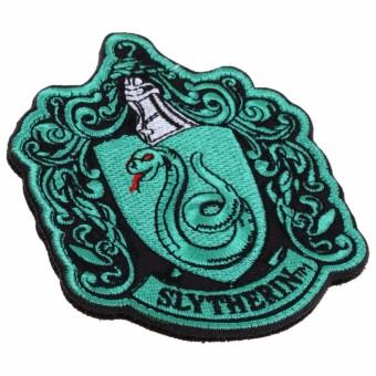 Harry Potter Ravenclaw Hufflepuffs Slytherin Gryffindor Crest Shirt Vest Patch - intl