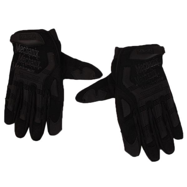 HengSong Camouflage Camping Finger Gloves Bon Choix (Black)