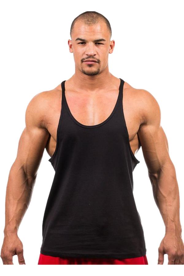 Hengsong Men Fitness Tank Top (Black)