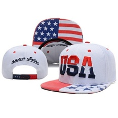 High Quality USA American Flag Snapback Cap Adjustable United States  Baseball Cap Hat New - intl efdde9be2c6