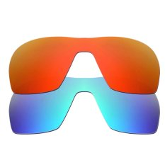 0a5bf7a9d3e Hkuco Mens Replacement Lenses For Offshoot Sunglasses Red Blue Polarized -  intl