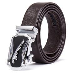 HMILY Men Belts Genuine Leather Luxury Brand New Designer Strap Cowskin Male Belt for Man Automatic
