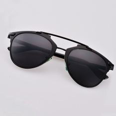0123f6b1580 Hot Fashion Retro Women Lady Dual Horizontal Beam Full Frame Sunglasses -  intl