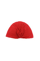 Indian Style Stretchable Turban Hat (Red)