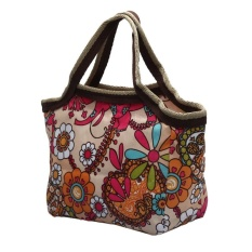 International Women Portable Insulated Thermal Cooler Lunch Box Carrytote Bag Travel Picnic - intl