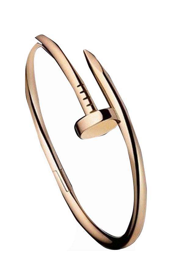 Jetting Buy Nail Bracelet - Rose Gold - thumbnail