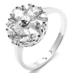 Jewelmine Harrods 4 Ring (Silver)