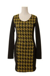 K-Style Vetyverio Dress (Yellow)