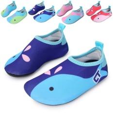 eaf7a7c42dd0 Kids Swim Water Shoes Barefoot Aqua Socks Shoes for Beach Pool Surfing  Yoga(01)