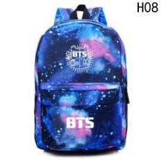 Kuhong BTS Bangtan K-pop Unisex Canvas Galaxy Space Shoulder bag Backpack  Daypack School bag