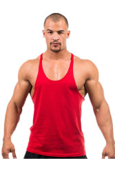 LALANG Fitness Sports Vest Tank Top Undershirt Red
